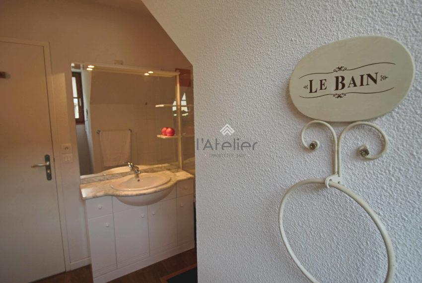 appart Vignec salle de bain
